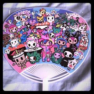 NWT Tokidoki Hand Fan